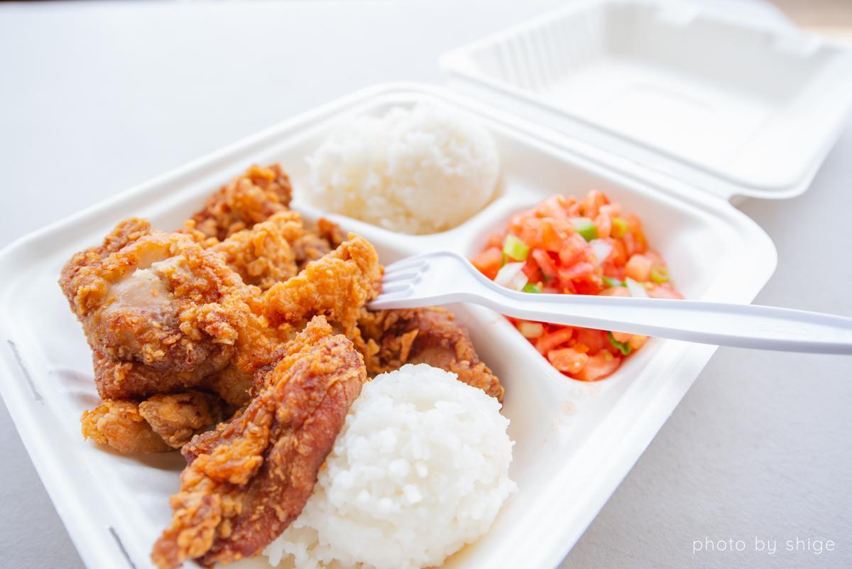 ハワイのお弁当