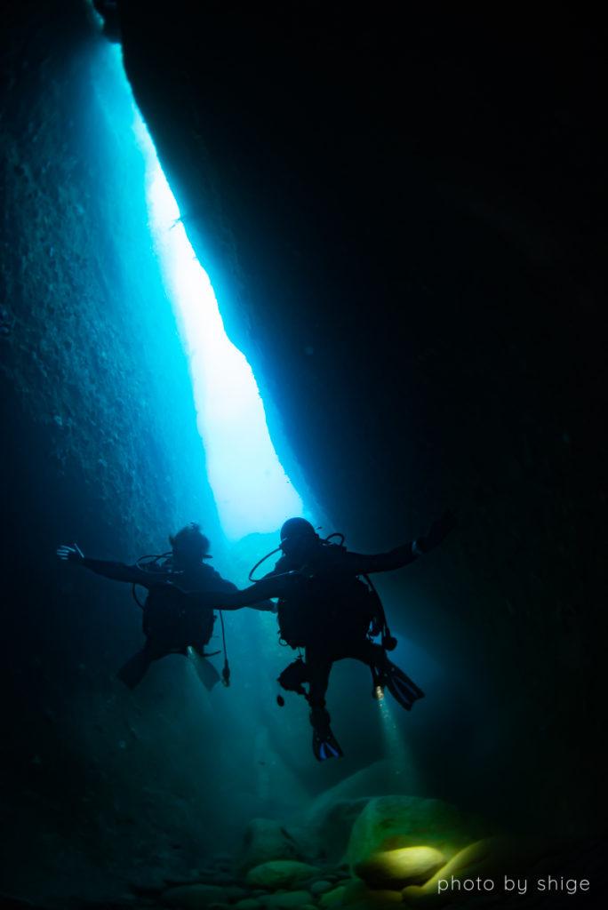 雲見の洞窟の写真