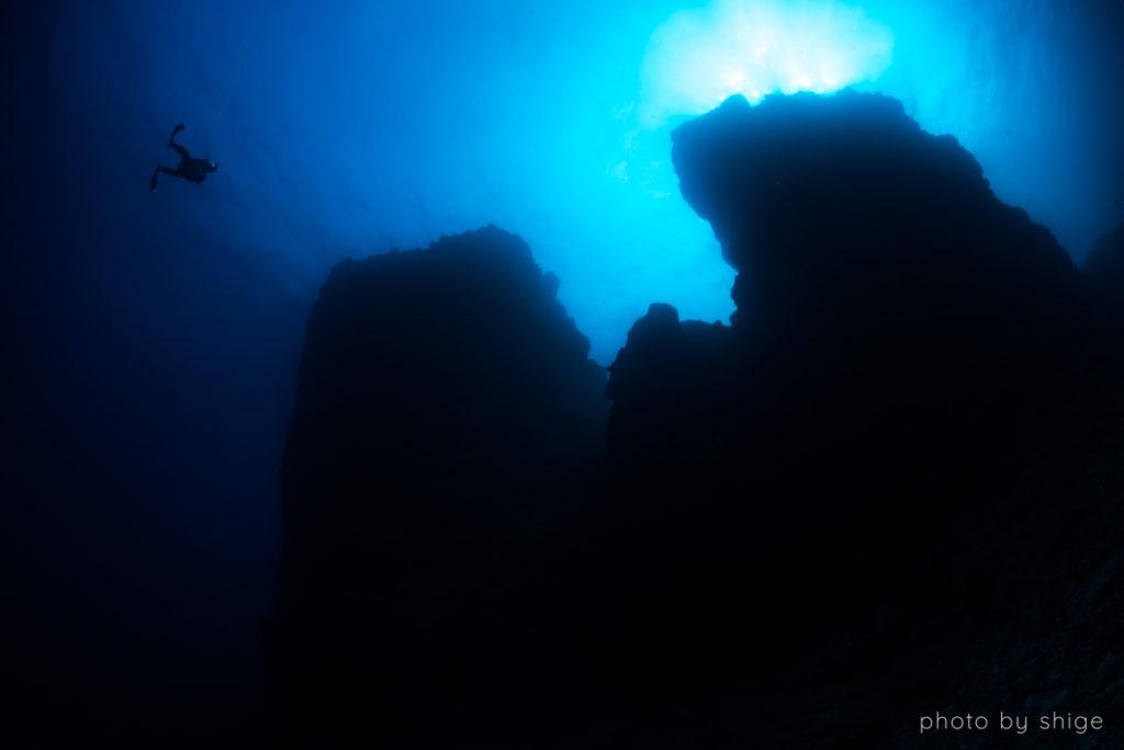 二神岩の写真