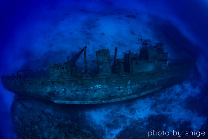 沈船あまみの全体像
